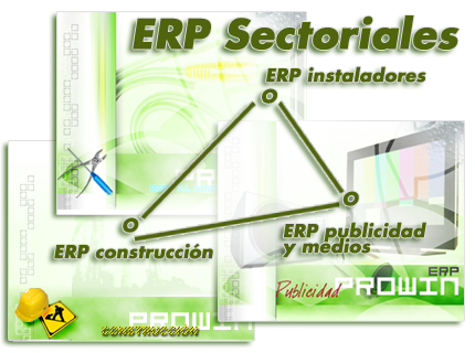 Erp Sectoriales, Erp Instaladores, Erp Construccion
