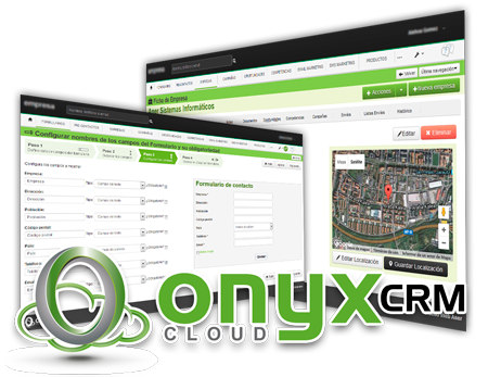 gestion de contactos onyx cloud crm