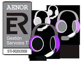 soporte telefonico con certificado AENOR
